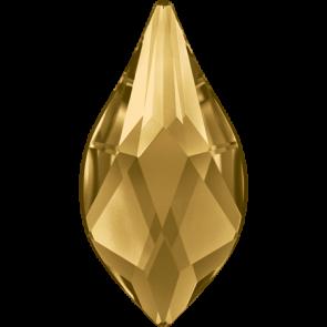 Cristale Swarovski cu spate plat si lipire la cald 2205 Light Colorado Topaz M HF (246) 10 mm