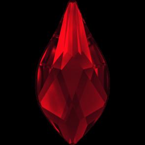 Cristale Swarovski cu spate plat si lipire la cald 2205 Light Siam M HF (227) 10 mm