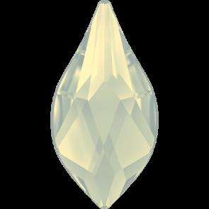 Cristale Swarovski cu spate plat si lipire la cald 2205 White Opal M HF (234) 7,5 mm