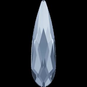 Cristale Swarovski cu spate plat No Hotfix 2304 Crystal Blue Shade F (001 BLSH) 14 x 3,9 mm