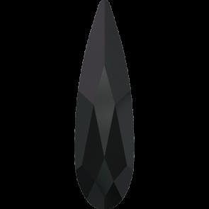 Cristale Swarovski cu spate plat No Hotfix 2304 Jet (280) 10 x 2,8 mm
