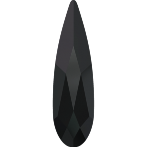 Cristale Swarovski cu spate plat No Hotfix 2304 Jet (280) 14 x 3,9 mm