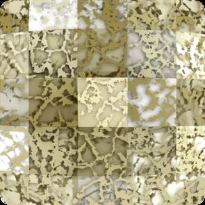Cristale Swarovski cu spate plat No Hotfix 2493 Crystal Gold Patina F (001 GOLPA) 8 mm