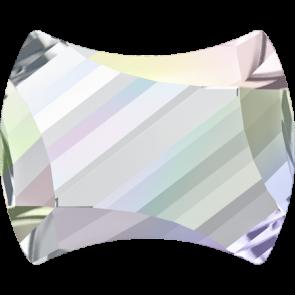 Cristale Swarovski cu spate plat No Hotfix 2540 Crystal AB F (001 AB) 9 x 7 mm