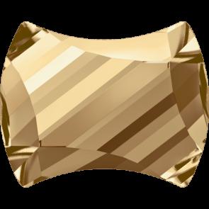 Cristale Swarovski cu spate plat si lipire la cald 2540 Crystal Golden Shadow M HF (001 GSHA) 7 x 5,5 mm
