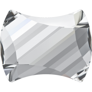 Cristale Swarovski cu spate plat si lipire la cald 2540 Crystal M HF (001) 7 x 5,5 mm