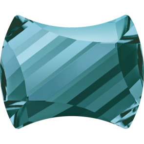 Cristale Swarovski cu spate plat No Hotfix 2540 Light Turquoise F (263) 7 x 5,5 m