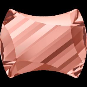 Cristale Swarovski cu spate plat No Hotfix 2540 Rose Peach F (262) 9 x 7 mm