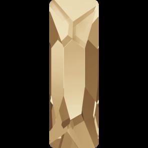 Cristale Swarovski cu spate plat No Hotfix 2555 Crystal Golden Shadow F (001 GSHA) 15 x 5 mm