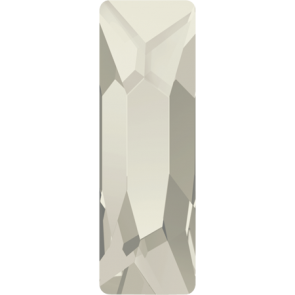 Cristale Swarovski cu spate plat si lipire la cald 2555 Crystal Silver Shade M HF (001 SSHA) 12 x 4 mm