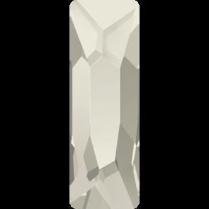Cristale Swarovski cu spate plat si lipire la cald 2555 Crystal Silver Shade M HF (001 SSHA) 15 x 5 mm