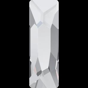 Cristale Swarovski cu spate plat No Hotfix 2555 Crystal F (001) 12 x 4 mm