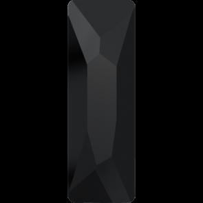 Cristale Swarovski cu spate plat No Hotfix 2555 Jet (280) 12 x 4 mm