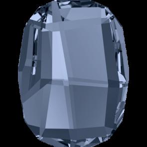 Cristale Swarovski cu spate plat si lipire la cald 2585 Denim Blue M HF (266) 8 mm