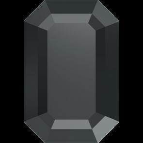 Cristale Swarovski cu spate plat si lipire la cald 2610 Jet Hematite M HF (280 HEM) 6 x 4 mm