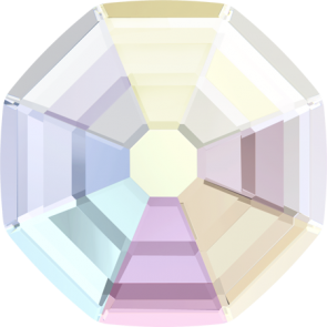Cristale Swarovski cu spate plat si lipire la cald 2611 Crystal AB M HF (001 AB) 8 mm