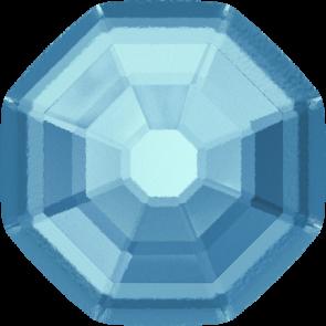 Cristale Swarovski cu spate plat si lipire la cald 2611/G Aquamarine M HF (202) 8 mm
