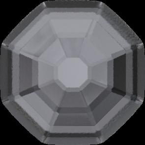 Cristale Swarovski cu spate plat si lipire la cald 2611/G Crystal Silver Night M HF (001 SINI) 8 mm