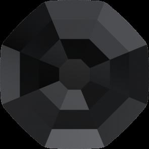 Cristale Swarovski cu spate plat No Hotfix 2611-G  Jet (280) 10 mm