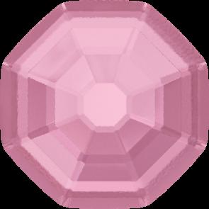 Cristale Swarovski cu spate plat si lipire la cald 2611/G Light Rose M HF (223) 14 mm