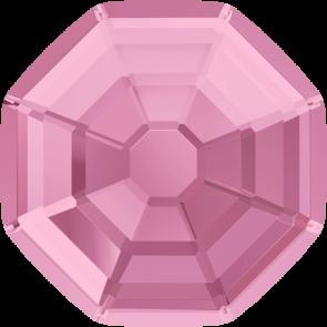 Cristale Swarovski cu spate plat si lipire la cald 2611 Light Rose M HF (223) 14 mm