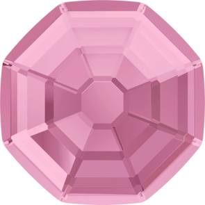 Cristale Swarovski cu spate plat si lipire la cald 2611 Light Rose M HF (223) 8 mm