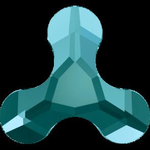 Cristale Swarovski cu spate plat No Hotfix 2708 Blue Zircon F (229) 8 x 8,7 mm