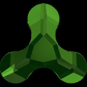 Cristale Swarovski cu spate plat No Hotfix 2708 Dark Moss Green F (260) 8 x 8,7 mm
