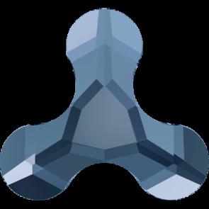 Cristale Swarovski cu spate plat si lipire la cald 2708 Denim Blue M HF (266) 8 x 8,7 mm