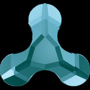 Cristale Swarovski cu spate plat si lipire la cald 2708 Light Turquoise M HF (263) 12,5 x 13,6 mm
