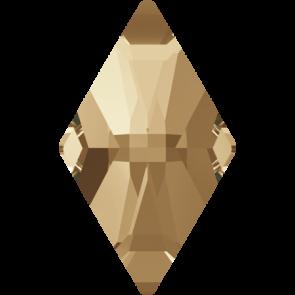 Cristale Swarovski cu spate plat si lipire la cald 2709 Crystal Golden Shadow M HF (001 GSHA) 10 x 6 mm
