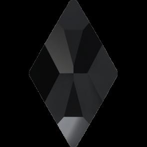 Cristale Swarovski cu spate plat si lipire la cald 2709 Jet M HF (280) 10 x 6 mm