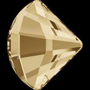 Cristale Swarovski cu spate plat No Hotfix 2714 Crystal Golden Shadow F (001 GSHA) 6 mm