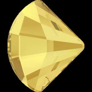 Cristale Swarovski cu spate plat No Hotfix 2714 Crystal Metallic Sunshine F (001 METSH) 6 mm