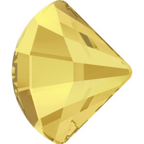 Cristale Swarovski cu spate plat No Hotfix 2714 Crystal Metallic Sunshine F (001 METSH) 10 mm