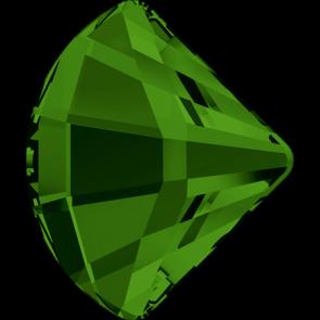 Cristale Swarovski cu spate plat No Hotfix 2714 Dark Moss Green F (260) 10 mm