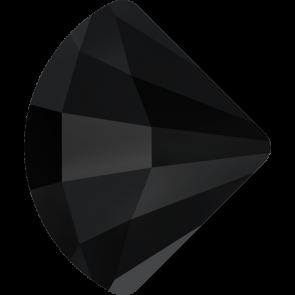 Cristale Swarovski cu spate plat No Hotfix 2714 Jet (280) 10 mm