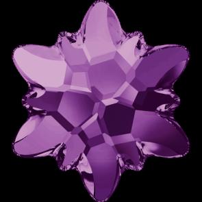 Cristale Swarovski cu spate plat si lipire la cald 2753 Amethyst M HF (204) 14 mm
