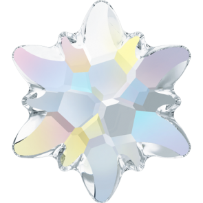 Cristale Swarovski cu spate plat No Hotfix 2753 Crystal AB F (001 AB) 14 mm
