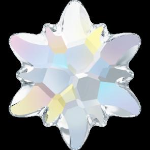Cristale Swarovski cu spate plat si lipire la cald 2753 Crystal AB M HF (001 AB) 10 mm