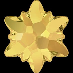 Cristale Swarovski cu spate plat No Hotfix 2753 Crystal Metallic Sunshine F (001 METSH) 10 mm