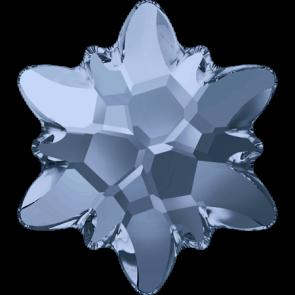 Cristale Swarovski cu spate plat si lipire la cald 2753 Denim Blue M HF (266) 14 mm