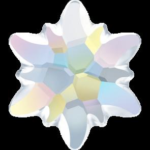 Cristale Swarovski cu spate plat No Hotfix 2753-G Crystal AB F (001 AB) 14 mm