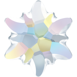 Cristale Swarovski cu spate plat si lipire la cald 2753/G Crystal AB M HF (001 AB) 14 mm