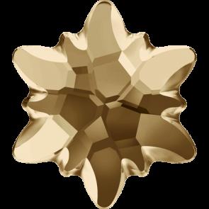 Cristale Swarovski cu spate plat si lipire la cald 2753/G Crystal Golden Shadow M HF (001 GSHA) 10 mm