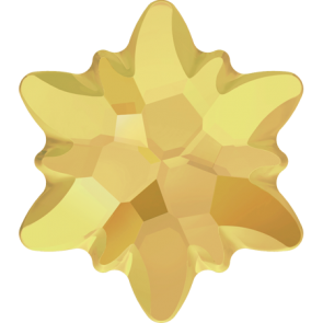 Cristale Swarovski cu spate plat si lipire la cald 2753/G Crystal Metallic Sunshine M HF (001 METSH) 14 mm