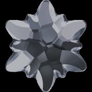 Cristale Swarovski cu spate plat si lipire la cald 2753/G Crystal Silver Night M HF (001 SINI) 10 mm