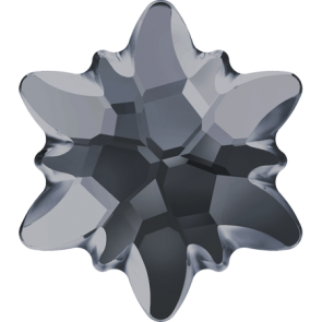 Cristale Swarovski cu spate plat si lipire la cald 2753/G Crystal Silver Night M HF (001 SINI) 14 mm