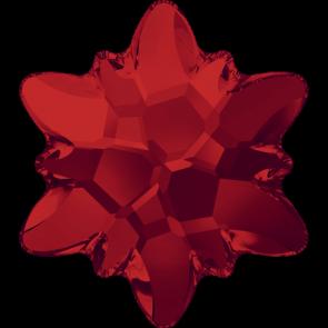 Cristale Swarovski cu spate plat si lipire la cald 2753 Light Siam M HF (227) 14 mm