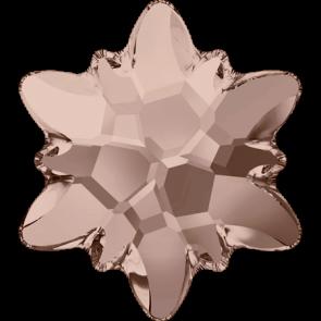 Cristale Swarovski cu spate plat No Hotfix 2753 Vintage Rose F (319) 14 mm